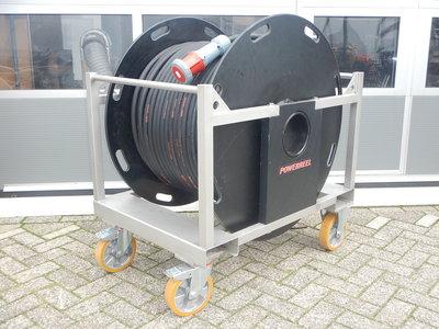 Kabelhaspel 63A 400V 100 meter 5G16mm2