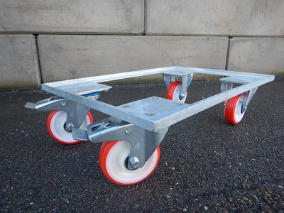 Dolly 1500, onderstel met wielen