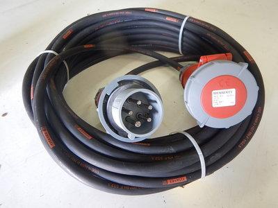 380V 16A H07RN-F 5G2,5 verlengkabel
