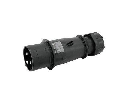 Mennekes260ZD Contactstop 32A3P-6H230V AM-TOP IP44 zwart